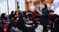 بازدید دانش آموزان از شعبه مینی سیتی بانک پارسیان